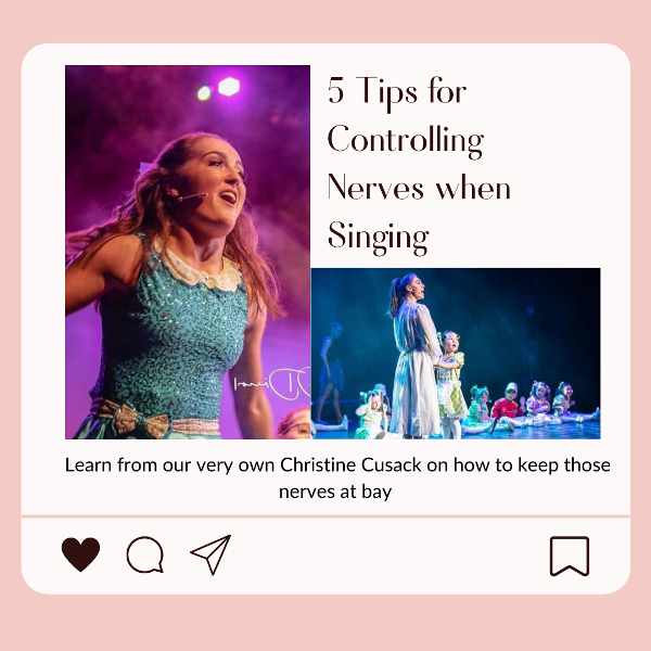 Five Tips for Controlling Nerves when Singing
