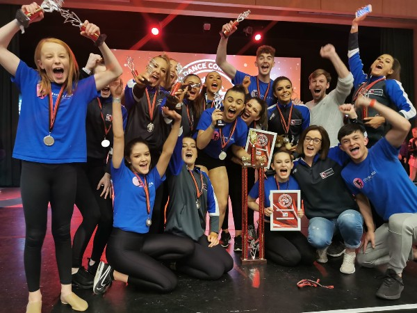 Success at Elite Dance Competition in Dublin